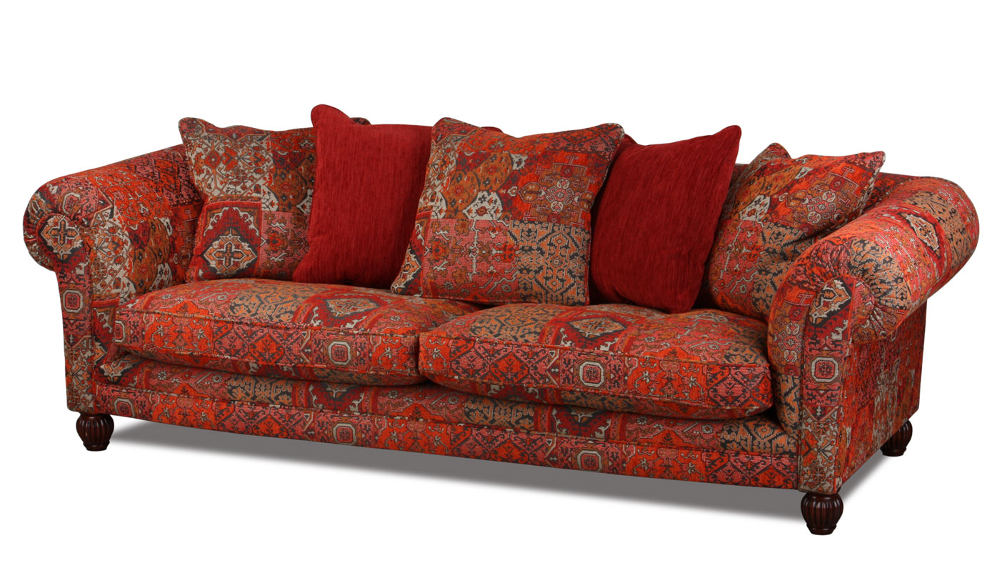 Woodstock Big Sofa Im Kolonialstil